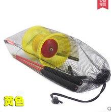Un nouveau chinois YO YO 3 roulement Diabolo Set bâtons en métal Transparent bleu violet vert sac à cordes