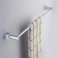 Железнодорожного полированный стойку полка серебро настенный алюминиевый полотенце кухня ванной двойной