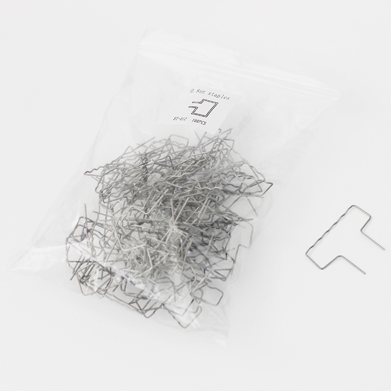 pack of 1000 pieces 0 8mm slot stainless steel staples for plastic welding bumper car repair tools in Sheet Metal Tools Set from Automobiles Motorcycles