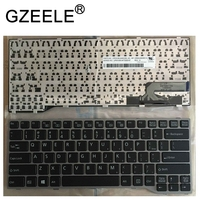 GZEELE novo Inglês teclado Do Laptop PARA Fujitsu Lifebook E733 E734 E743 E744 E544 E736 sliver quadro|Teclado de substituição| |  -