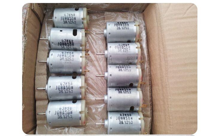 Johnson 540 electric motor 6VDC DC 6V High Speed