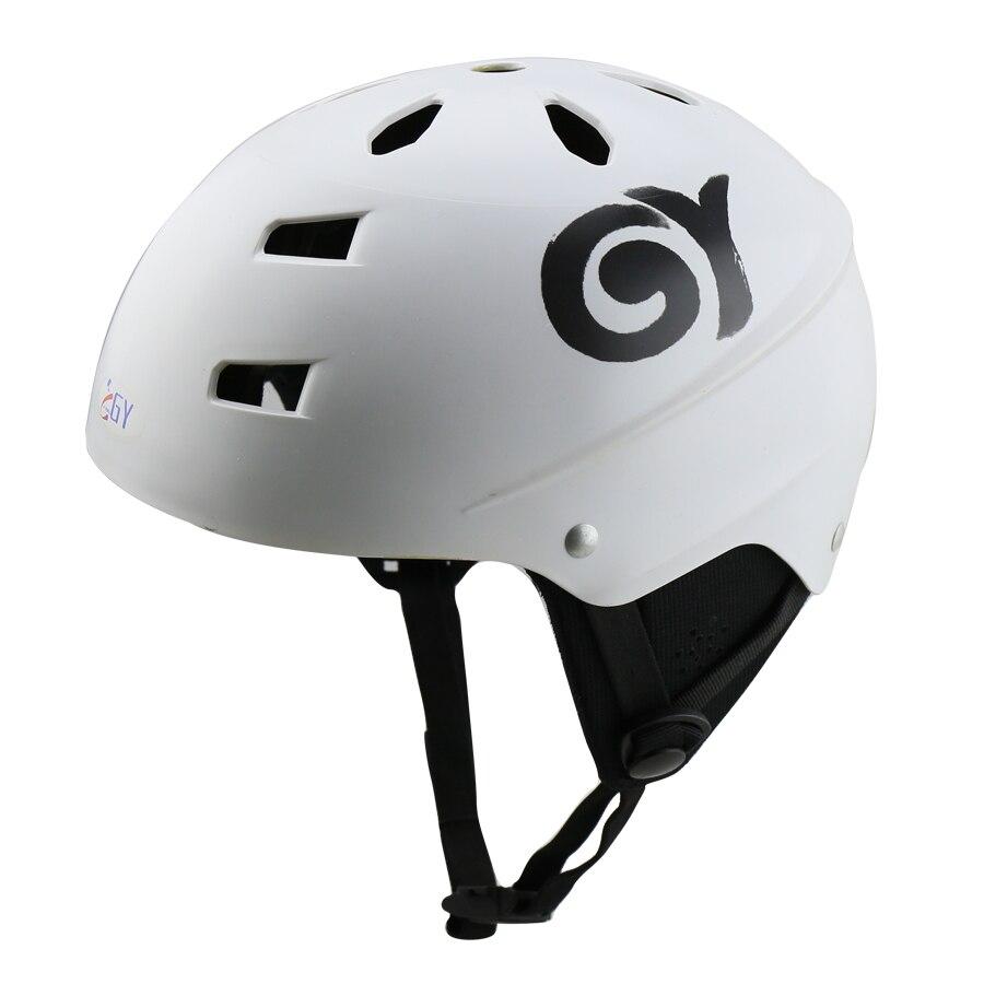 CE EN 1385 nouveau casque de sport nautique couleurs vives wakeboard kayak casque adulte jaune/blanc pour l'eau vive