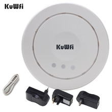 300Mbps Wireless Ceiling AP Router High Power Indoor Wireless Router AP Wifi Repeater Signal Booster 24V POE Adapter все цены