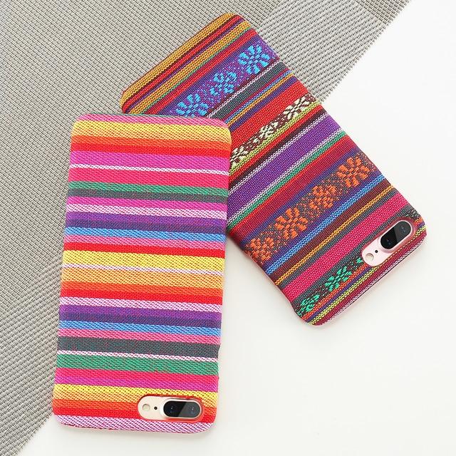 Bohemian Cloth Ultra Thin Phone Cases( iPhone 6 6S 7 8 Plus X)