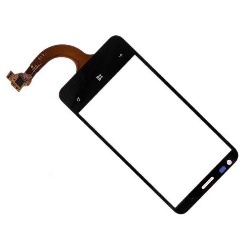 100% testé Écran Tactile de haute qualité Pour Nokia Lumia 620 N620 Digitizer Rve-3 Version par livraison gratuite Noir cellulaire téléphone écran