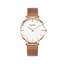 2017new muhsein is a brand of ultra-thin couple a pair of watch steel men's watch women's table waterproof fashion quartz watch