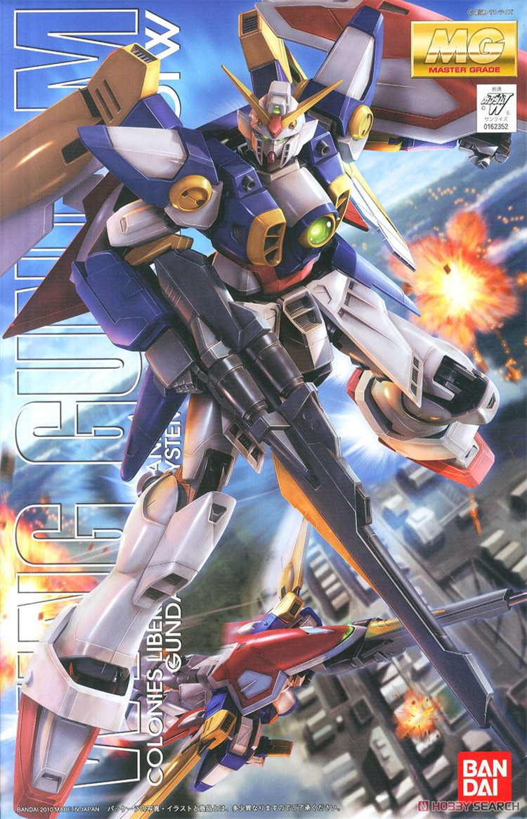 Bandai Gundam MG 1 100 Wing XXXG 01W Mobile Suit Assemble Model Kits Action Figures Plastic