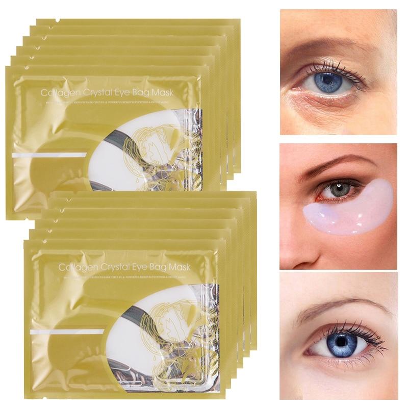 30 unids PILATEN Colágeno Crystal Eye Máscaras Anti-envejecimiento, - Cuidado de la piel - foto 2
