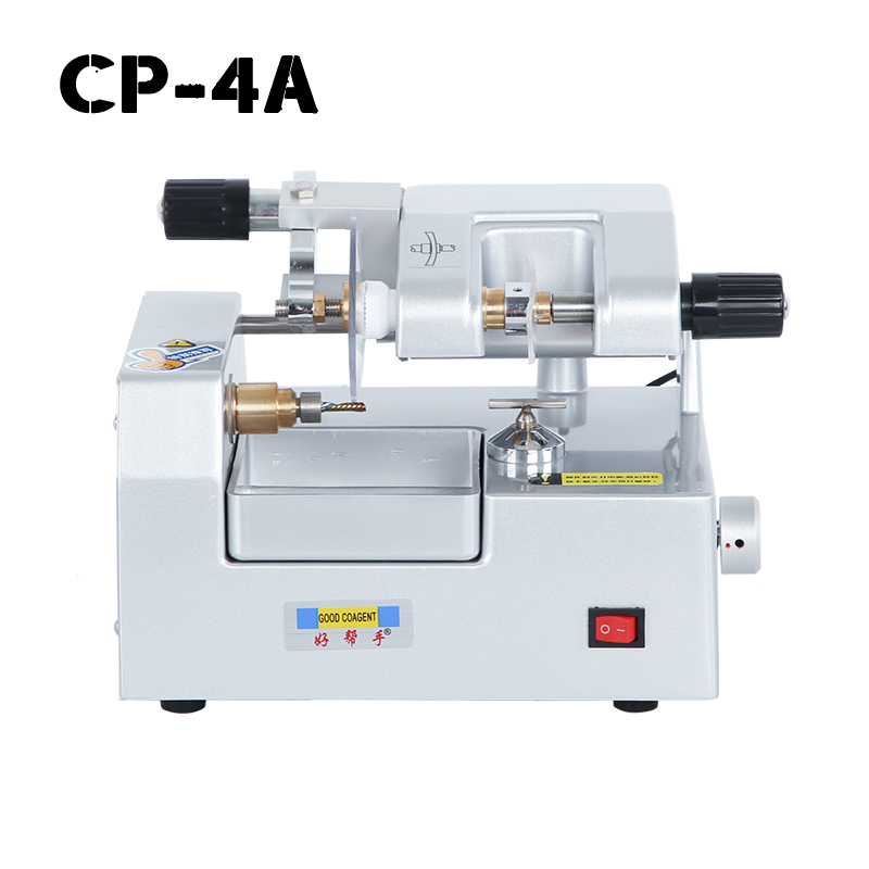 Optical Lens Cutter Cutting Milling Machine CP-4A without water cut Imported milling cutter high speed 110V/60hz 220V/50hz fonksiyonlu rende
