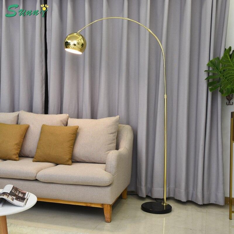 Lampadaire créatif design postmoderne pour salon lampe de chevet de chambre à pêche scandinave Home Deco lampes autoportantes