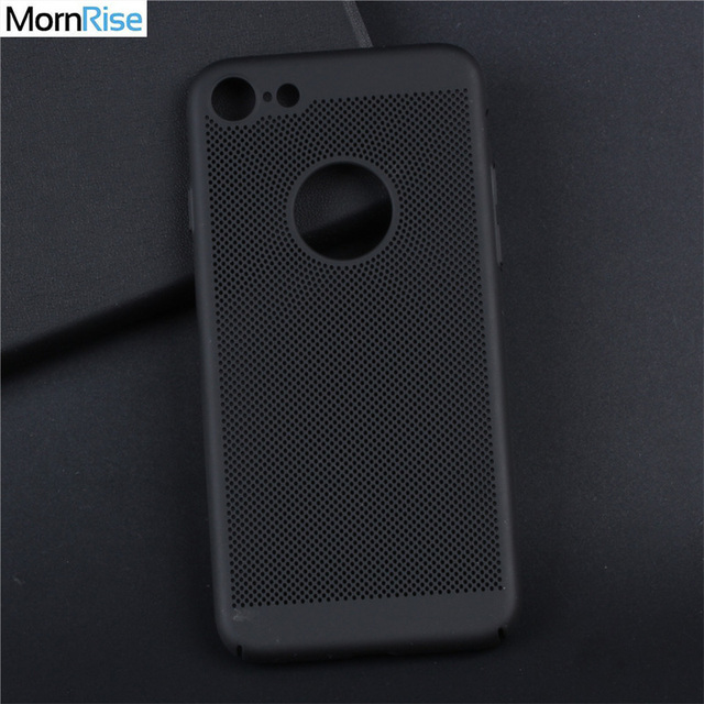 cheap for discount c0618 e6db0 US $2.69 40% OFF|Matte PC Back Cover For iPhone 7 7 Plus case Cooling  Radiating Ultra Thin Soft Fundas for iPhone 6 6S Cases 360 Degree  Protect-in ...