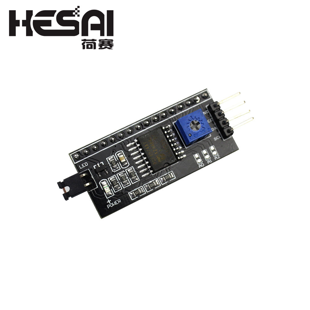 Smart Electronics 1602 2004 LCD Adapter Plate IIC I2C / Interface LCD1602 I2C LCD Adapter For Arduino Diy Kit