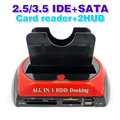 "All In 1 2.5"" 3.5""IDE SATA HDD Hard Drive Disk Clone Holder Dock Docking Station"