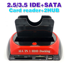 All In 1 2.5″ 3.5″IDE SATA HDD Hard Drive Disk Clone Holder Dock Docking Station