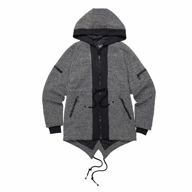 US $52.62 49% OFF Männer Neue Schlanke Winter Jacken Japanischen Stil Jacken Schwanz Mäntel Design Kostüm Junge Mode Kleidung Männlichen Warme Mäntel