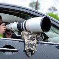 Atacado de alta qualidade câmera fotográfica feijão saco de feijão saco de borracha à prova d ' água birding