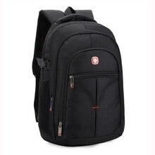 Marca Suiza hombres laptop mochila ordenador mochila sac a dos mochilas oxford a prueba de agua 14/15. 6 pulgadas bolsas