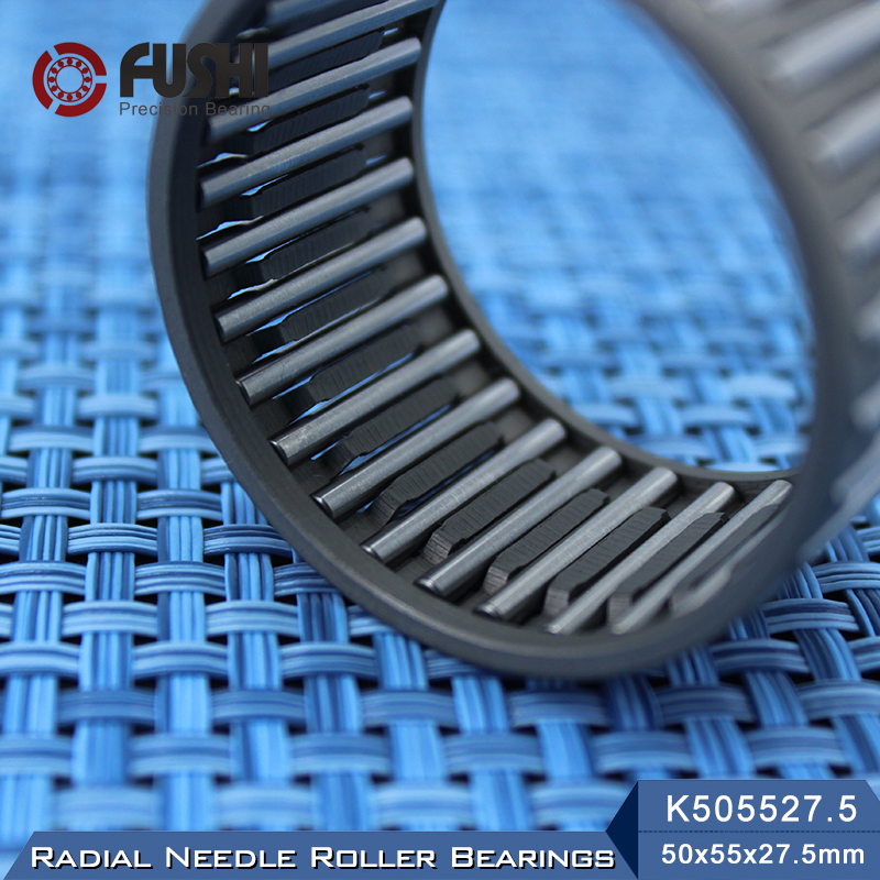 K505527.5 Bearing size 50*55*27.5 mm ( 1 Pc ) Radial Needle Roller and Cage Assemblies K505527.5 Bearings K50x55x27.5 bk5020 needle bearings 50 58 20 mm 1 pc drawn cup needle roller bearing bk505820 caged closed one end 55941 50