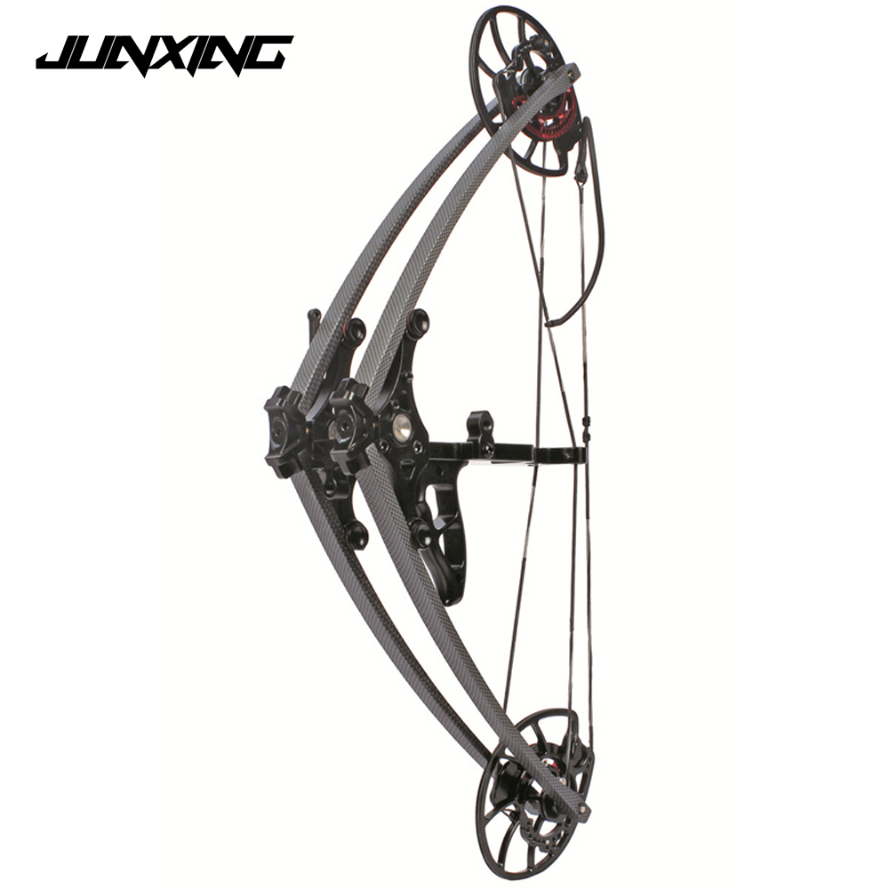 M109A Compound Bow 35-65lbs Draw Weight for Adult Hunter Archer Outdoor Hunting Shooting Aluminum Alloy Sport Game Bow Archery new 34 inches children compound bow draw weight 15lbs black fiberglass handle for archery practice competition game shooting