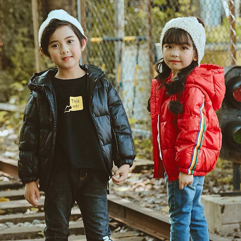 Baby Girls  Boys Jacket Warm Winter  Autumn Jacket Coat Kids Warm Thick Hooded Children Outerwear Coat Girls Boys Clothing