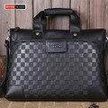 VKTERY luxury fashion brand pu leather handbags business men messenger bag crime leisure  Crossbody bag hit 2016