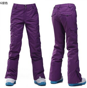 2016 NEW high quality Fabric womens Snowboard pants ski trousers Waterproof Windproof Br ...