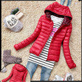 Cotton2016 New Fashion Hooded Women Jacket  Winter Thicken Casual Women Coat Slim Padded Outwear C018