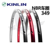 Fiets Velg Kinlin Nbr 16 Inch Ultralight Velg Hoge Kwaliteit 349 Velg Voor Tikit Voor Brompton 16 20 24 Gaten 16