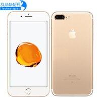 Oryginalny Apple iPhone 7 Plus Smartphone 3 GB RAM 128 GB ROM Quad-Core Linii Papilarnych 12.0MP Camera IOS Mobile telefon 4G Smartphone