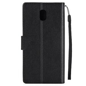 Для Samsung Galaxy J3 2017 кожаный чехол для Samsung J3 2016 / J3 2017 J330 чехол Fundas классический стиль флип бумажник чехлы для телефонов