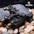 Free shipping with Leather bag Mariana Liner 8 Wraps Steel Frame Copper Coils WQ2066-1 Compass Tattoo Machine