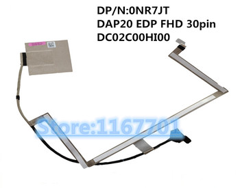 New Original Laptop/notebook LCD/LED/LVDS cable for Dell Precision 7730 M7730 0NR7JT DAP20 EDP FHD 30pin DC02C00HI00