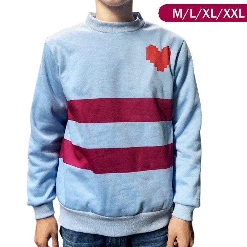Neue Spiel Undertale Frisk Mantel Cosplay Kostüm Warm shirt top Sweatshirt hoody jacke