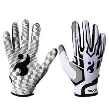 1 пара ватные перчатки унисекс Бейсбол Софтбол ватные перчатки противоскользящие ватные перчатки для взрослых