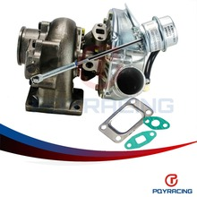 PQY STORE- KKR430 T430 Turbocharger For Nissan RB20 RB25 2-3L T3 Turbine .58 A/R comp. .50 A/R turbo PQY-TURBO36