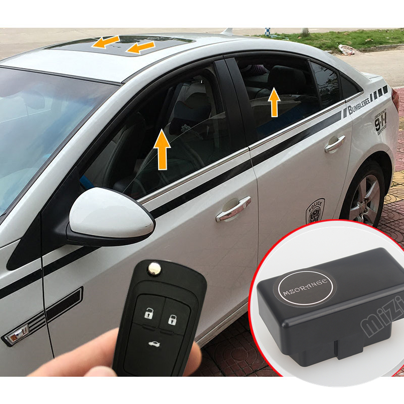 Auto Window Window Cloreer OBD For Chevrolet Cruze 2009 2010 2011 2012 2013 2014 Sammenleggbar speilmodul Bil Window Window Closer
