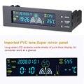 """Promoção Novo Controlador da Velocidade Do Ventilador Controlador de Ventoinhas 5.25 """"Painel Frontal 3 Sensor de Temperatura Da CPU"""