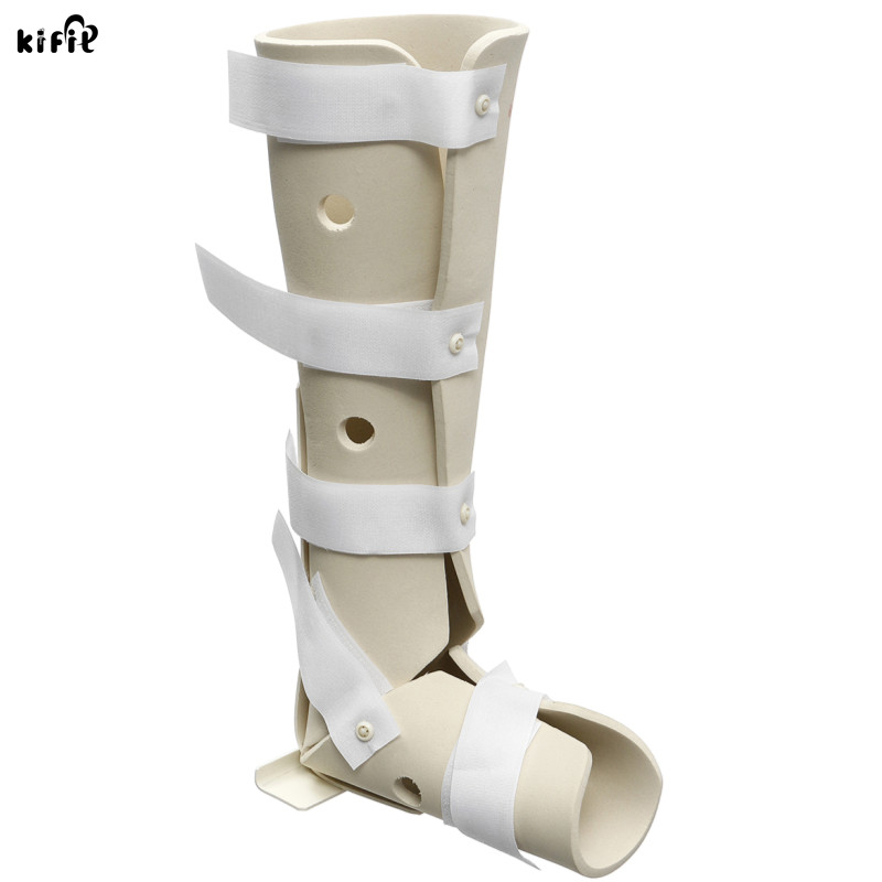 KIFIT 1Pcs Foam Soft Splint Boot Brace Ankle Support For Tendinitis Plantar Fasciitis Heel Spurs Fixed Orthotics Nursing Care