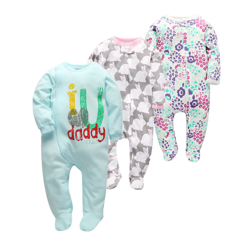 Super soft baby girl clothes cotton one pieces   rompers   infant jumpsuits for new born , good and cheap newborn clothing costume