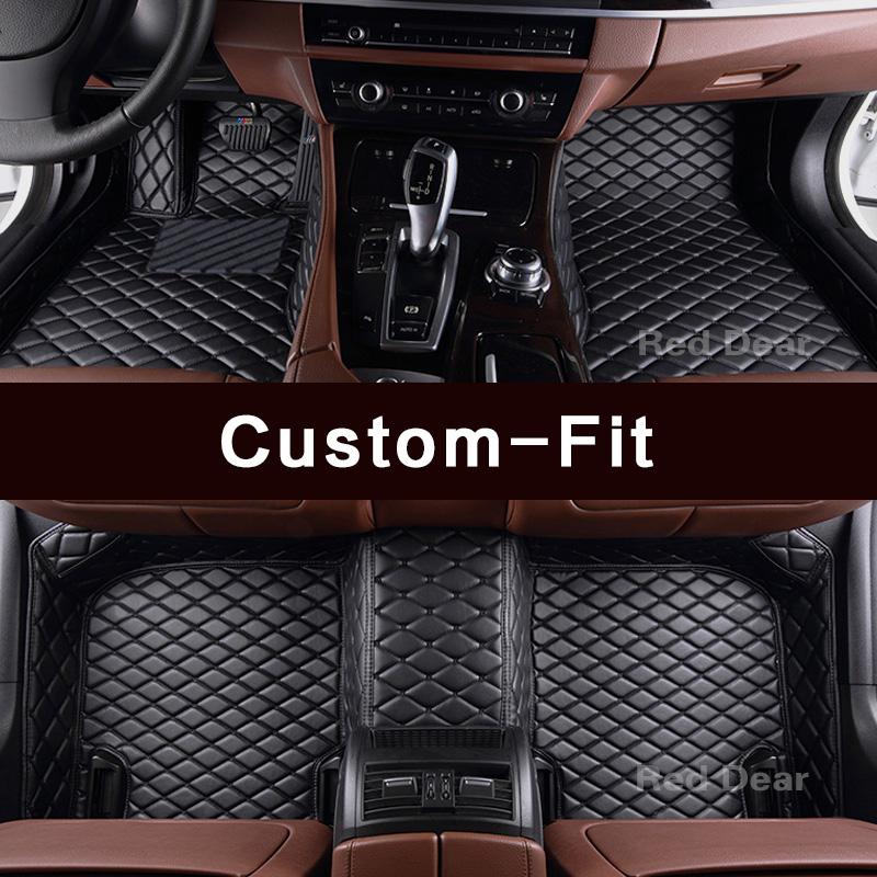 Customized car floor mats for Mercedes Benz S class Maybach W220 W221 W222 V222 S63 S65 AMG long/standard wheelbase carpets rugs