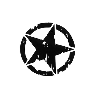 1Pcs Car Stickers 15cm*15cm ARMY Star Graphic Decals Motorcycle Car Body/Window Stickers Vinyl Car-styling Hot(China)