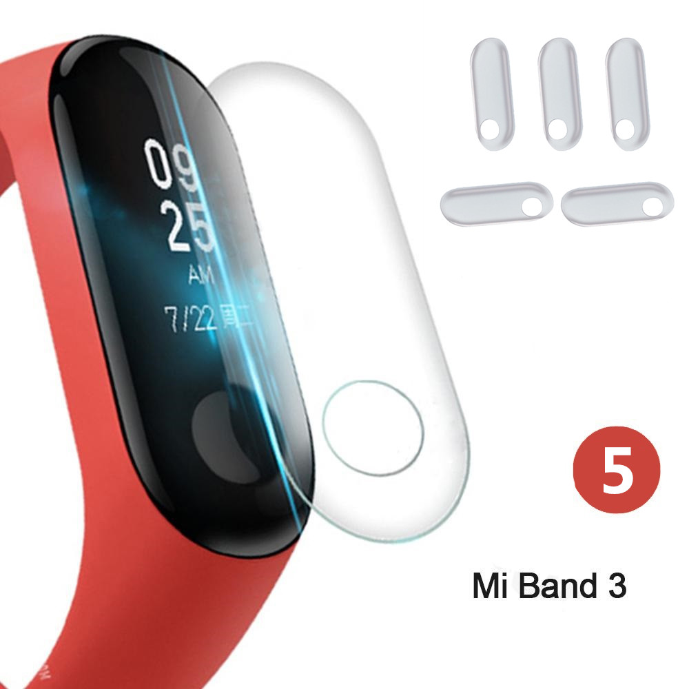 Hot 10Pcs Screen Protector Film For Xiaomi Mi Band 3 Smart Wristband Bracelet Full Cover Protective Films Not Tempered Glass
