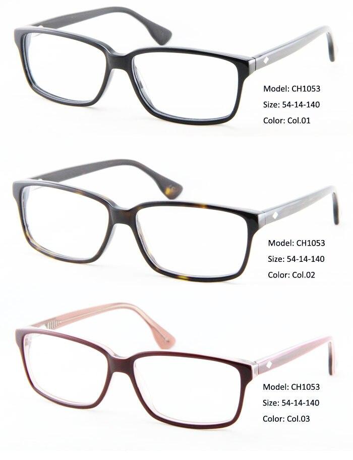 Высокое качество привлекательные ацетатные оптические оправы и металлические оправы для мужчин аксессуары для очков Brille