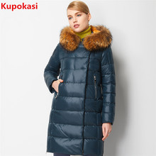 2017 Women Coat Jacket Warm Woman Parka Jacket With Real Raccoon Fur Winter Thick Coat Women New Winter Warm Collection
