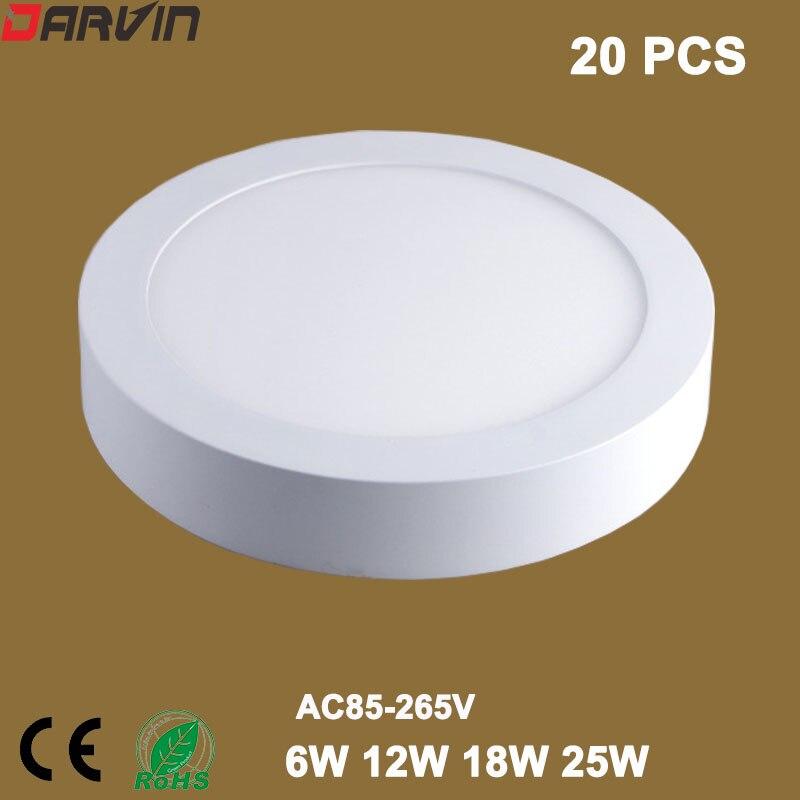 Suprafață de iluminat cu LED-uri de suprafață 6W 12W 18W 25W - Iluminat cu LED