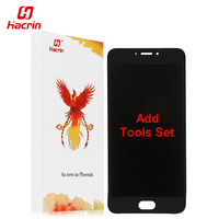 Hacrin Meizu MX6 Lcd Display Touch Screen 100 New FHD 5 5 Digitizer Assembly Replacement Accessory