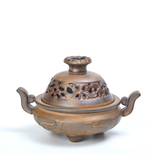 Classic ear jewelry ceramic incense burner road new fragrance aroma of sandalwood coil furnace