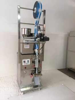 Machine à emballer de cachetage de dos d'acier inoxydable avec le codeur de date, un ancien de sac supplémentaire