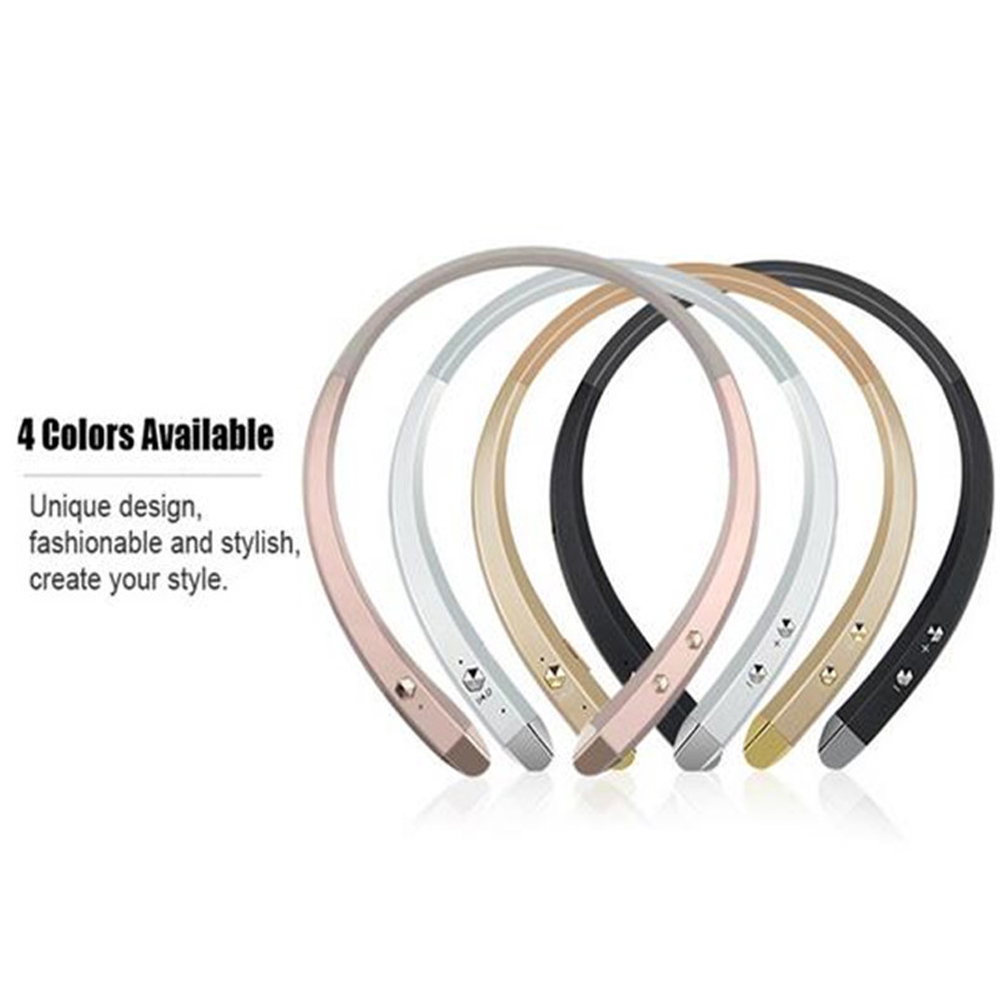 Wireless Neckband Bluetooth Headset HandsFree Sport Stereo Headphone With MIC Listen Music /Game play Strong Bass For Phone TV
