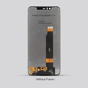 """Image 5 - الأصلي لنوكيا 5.1 زائد شاشة الكريستال السائل 10 اللمس شاشة لنوكيا X5 شاشة LCD محول الأرقام 5.86 """"استبدال قطع إصلاح أجزاء"""